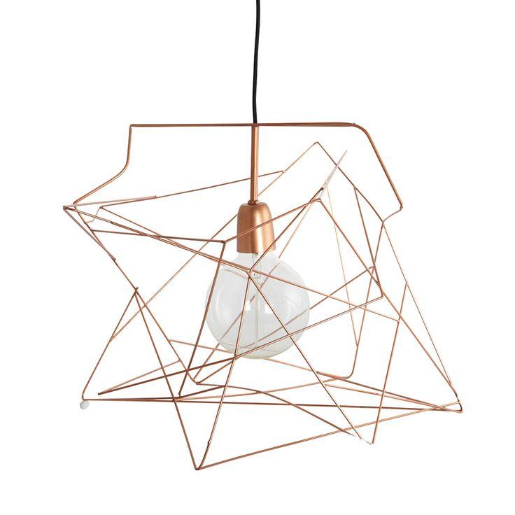 Asymmetric Lampskärm, Koppar, House Doctor