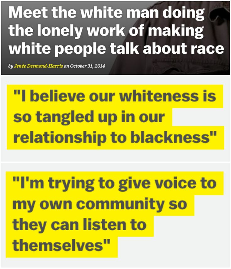 Meet the white man doing the lonely work of making white people talk about race