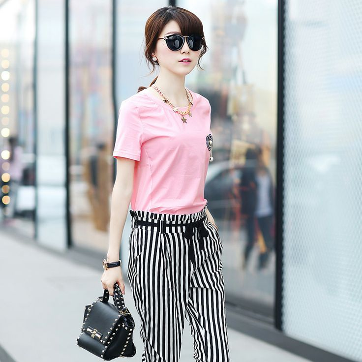 Image result for vertical striped outfit for petite girl