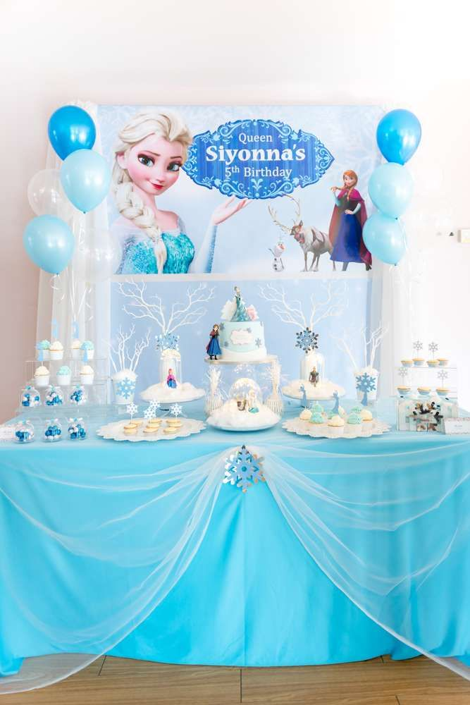 Take A Look At This Wonderful Frozen Birthday Party The