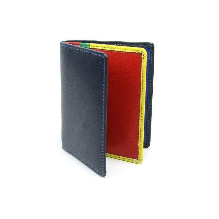 Barevné pouzdro na karty - peněženky AHAL