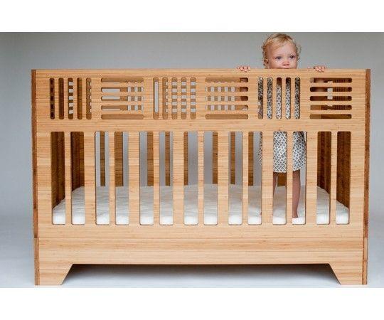 Gorgeous modern crib from Kalon Studios