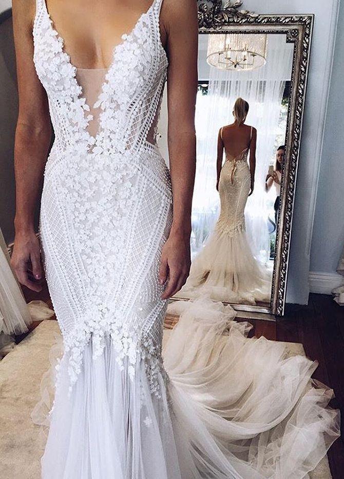 25 Best Ideas About Open Back Wedding Dress On Pinterest