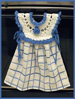 allnineskr's Blueberry Oven Door Dress Kitchen Towel