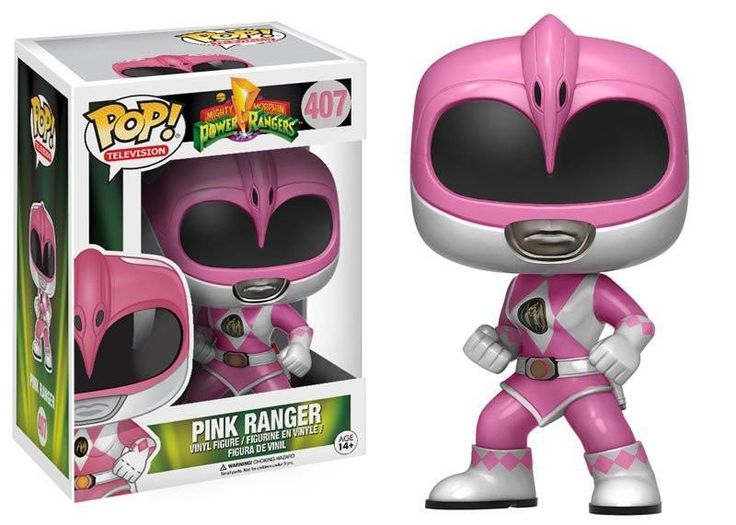 POP! Television: Power Rangers - [Action Pose] Pink Ranger