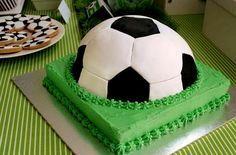 Tortas de cumpleaños de futbol