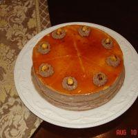 Dobos Tort - Caramel Chocolate Cake Recipe