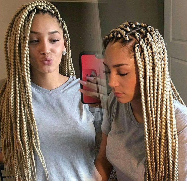 Blonde Braids €�️ Pinterest ϸ�hair Nails And Style €�️‼️