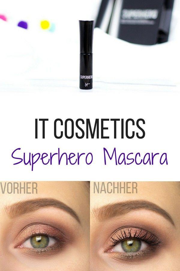 Superhero Mascara von It Cosmetics – Vorher Nachher Vergleich