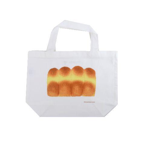 こげ具合がいい。彦坂木版工房 パンのトートバッグ 【山食パン】|恵文社一乗寺店