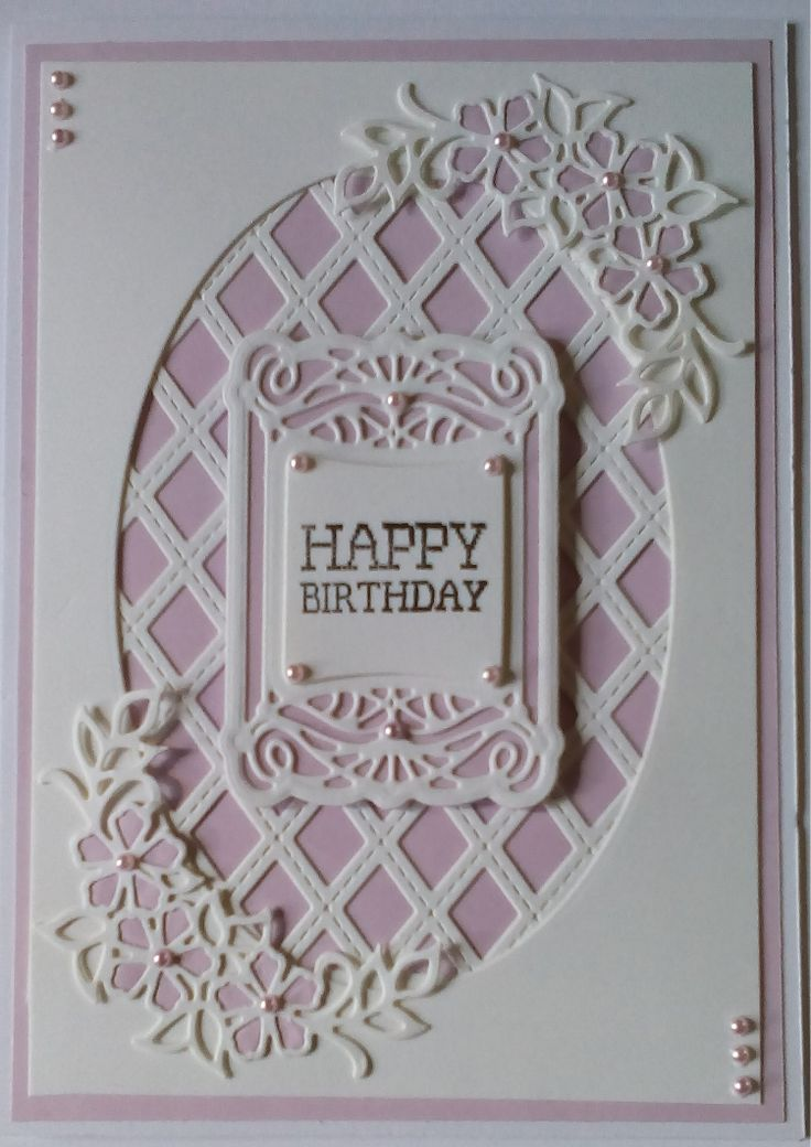 """This is only a 7 x 5"""" card, but quite pretty with the pale background."""
