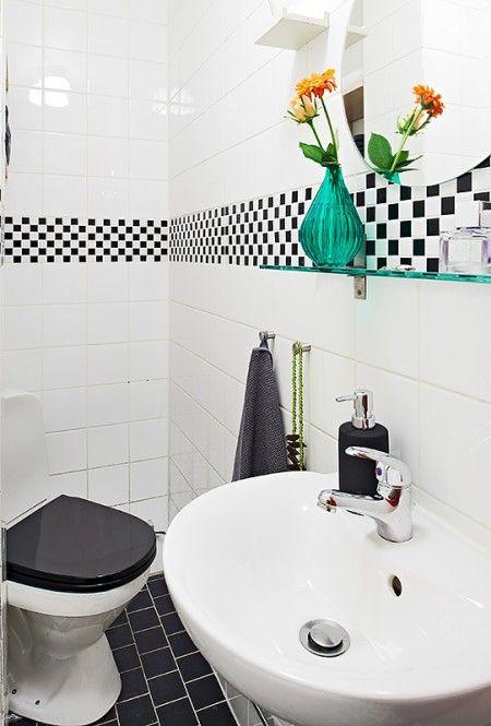 Otro pequeño estudio de 33,5m² con cama elevada: De 33 5M2, Decoration Blog, Baño Visita, Decor Style, 33 5M2 Con, Ideas Baño, Study, Pequeño Estudio, Tiny Studio Apartments