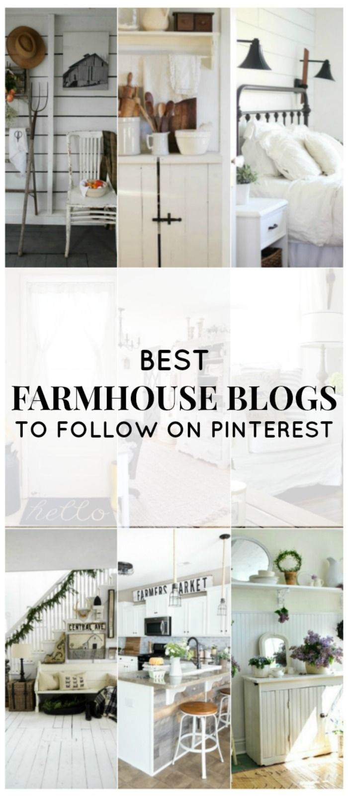 It should be no surprise that I adore farmhouse blogs. I have one of my own, and I follow many others that I love and admire. Today I thought I'd share some of my favorite farmhouse pinners on Pinterest. I didn't choose any big business pinners, like Country Living or Joanna Gaines, although I love both. Instead I focused on bloggers who started out just like me … with a love for farmhouse style who wanted to bring that style  {Read More}