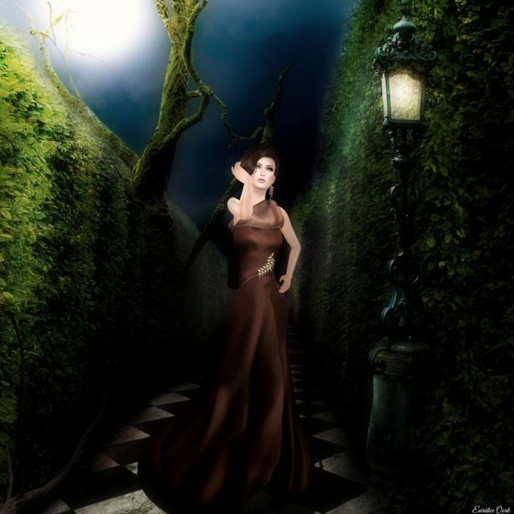 I think I got lost in the laberynth Gown: Serenity, by Sofia Corleone for Celestina's specialy for The Instruments The event