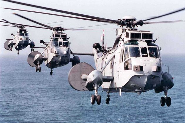 The Royal Navy's Sea King Mk7 airborne surveillance and control helicopters are set to play a role in the security operations surrounding this year's London 2012 Olympic Games.