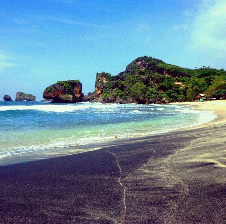 Pantai Siung, Gunungkidul, Jogjakarta