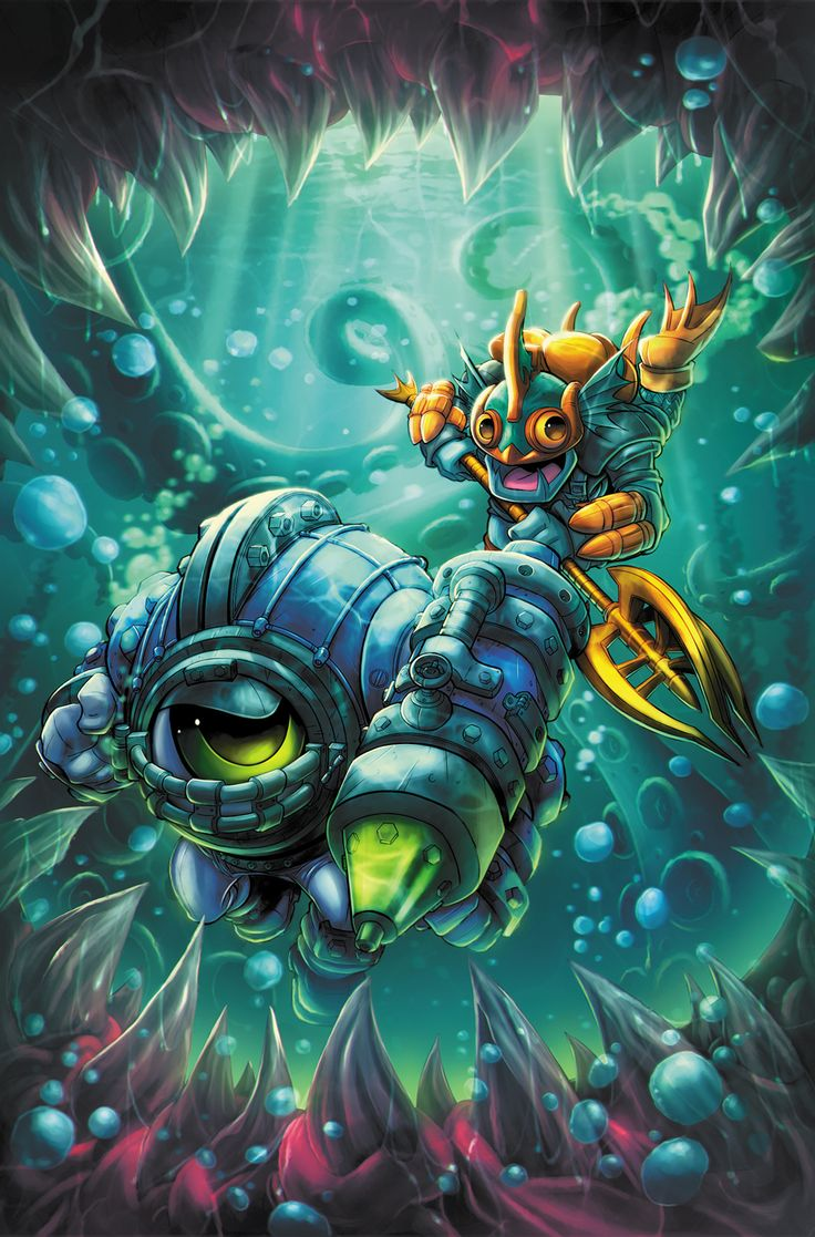 Skylanders Cover by RobDuenas.deviantart.com on @DeviantArt