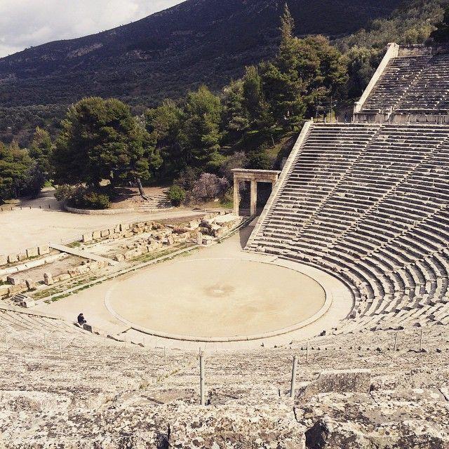 #AncientTheater of #Epidaurus #Culture #DayTrip Photo credits: @gaiakley_