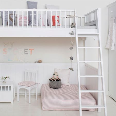 Loft beds, when well constructed, and designed with safety in mind, definitely have a place in a children's bedroom. In a small bedroom, or ...
