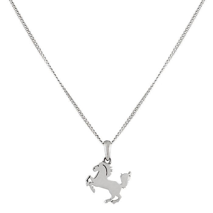 Horse Pendant on STG Chain - ANDREA MOORE JEWELLERY  http://www.andreamooreboutique.com/estore/style/jlp001.aspx