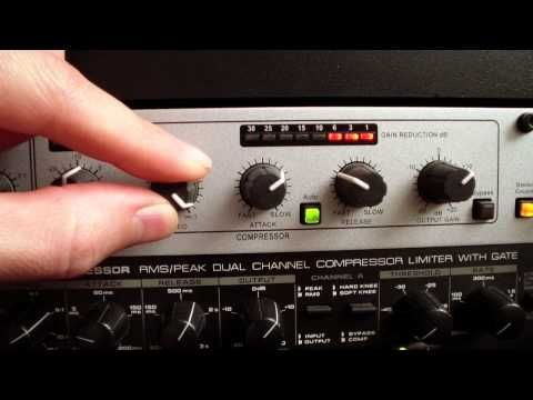 Dbx 266xs Compressor Youtube Compressor Make It Yourself