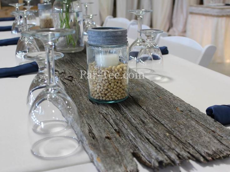 Custom Barn Board Table Runner