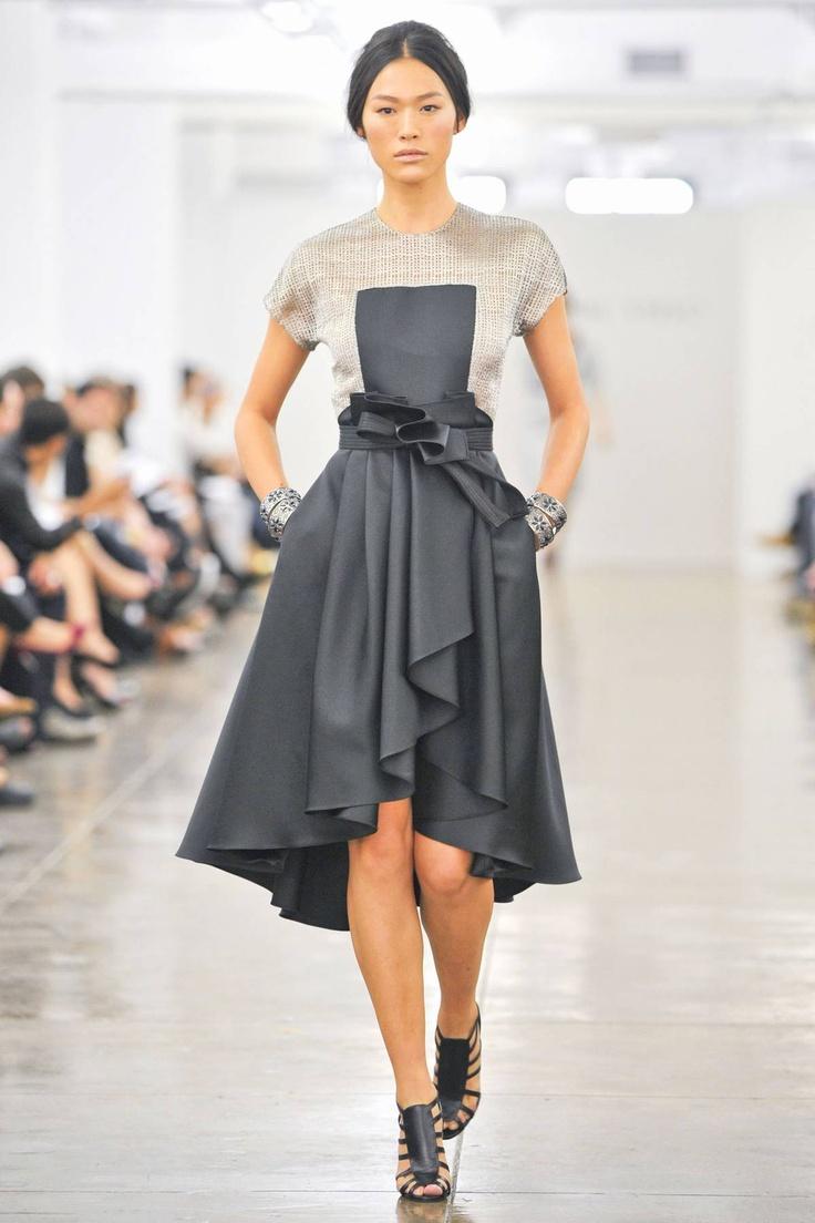 Carmen Marc Valvo Spring 2013 RTW Collection - Fashion on TheCut