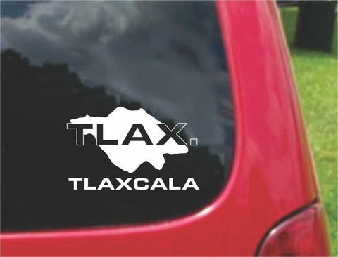 Tlaxcala Mexico Outline Map Sticker Decal