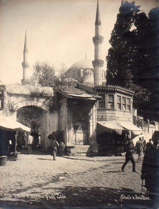 Şehzadebaşı Camii 1900'lü yıllar
