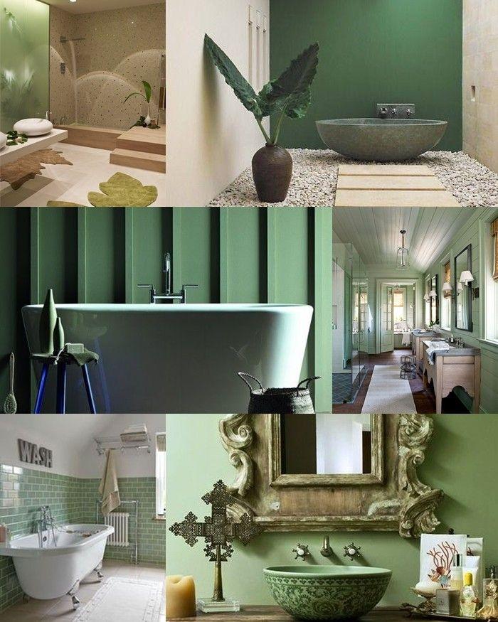 Bathroom Palette #5: shades of greenBagni dal mondo | Un blog sulla cultura dell'arredo bagno