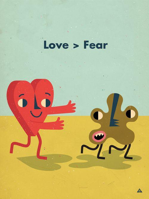 Love > Fear Eric Comstock
