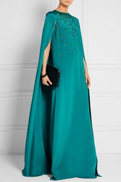 Vestidos de festa verdes longos 2017: ideais para casamentos noturnos Image: 27