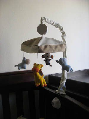 After I posted our nursery reveal, I had a few people ask me about Some Boy's baby mobile and homemade baby mobile cover. The baby mobile we bought came bare, with uncovered plastic pieces holding …