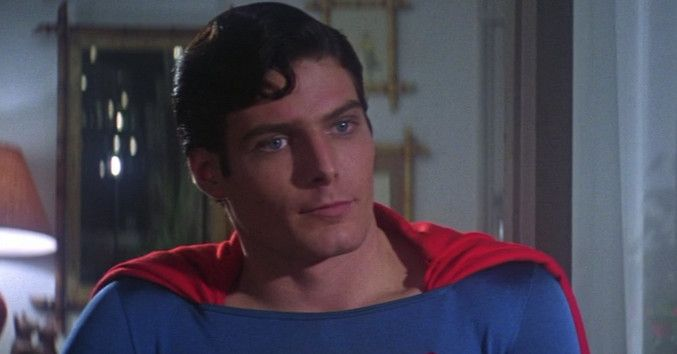 The original Superman movie didn't need any technology for its best special effect.