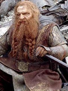 ロードオブザリングではドワーフの戦士。斧と怪力を生かして何度も仲間を助ける小柄でかわいさも❤︎