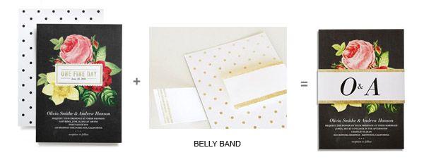 Wedding Paper Divas Foil Stamped Invitations & DIY Goodies — Sponsor Highlight | Wedding Inspirasi
