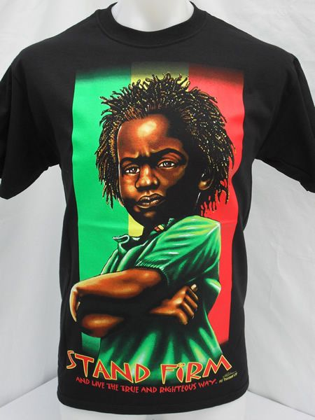 Stand Firm Designs : Stand firm rasta t shirt http rastaclothing