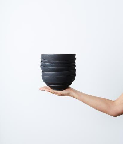 Ash + Stoneware Bowl