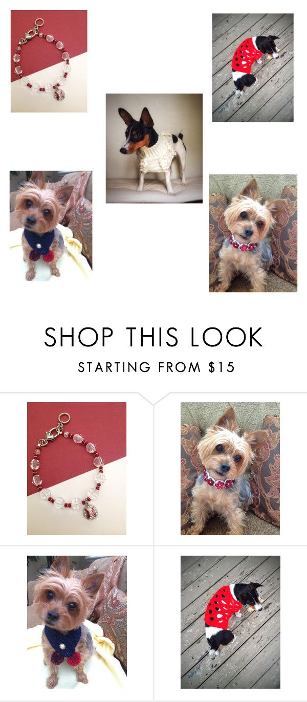 """""""Fur Babies Holiday Gifts"""" by artistinjewelry ❤ liked on Polyvore"""