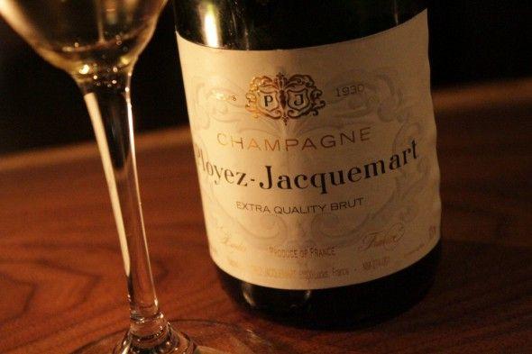 Champanhe de entrada no Atera: Ployez-Jacquemart (Foto: PMS)