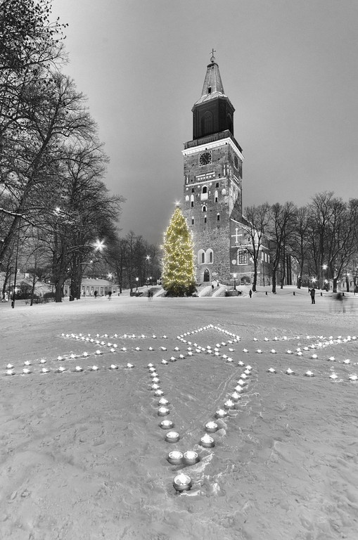 'CHRISTMAS' - Turku Cathedral, Finland - 12/12/2012