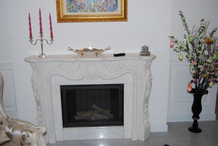 Indoor Gas fireplace installation idea http://www.italkero.com/Products/Gas-Fireplaces/