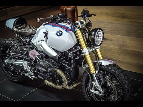 "BMW R nineT Scrambler  ""Martin 70""  by VTR Customs"