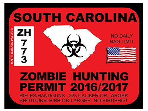 17 best images about zombie hunting permits on pinterest for South carolina fishing license