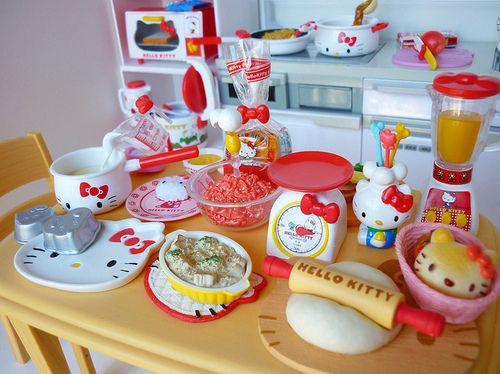 314 best * Hello Kitty Miniatures * images on Pinterest   Hello ...