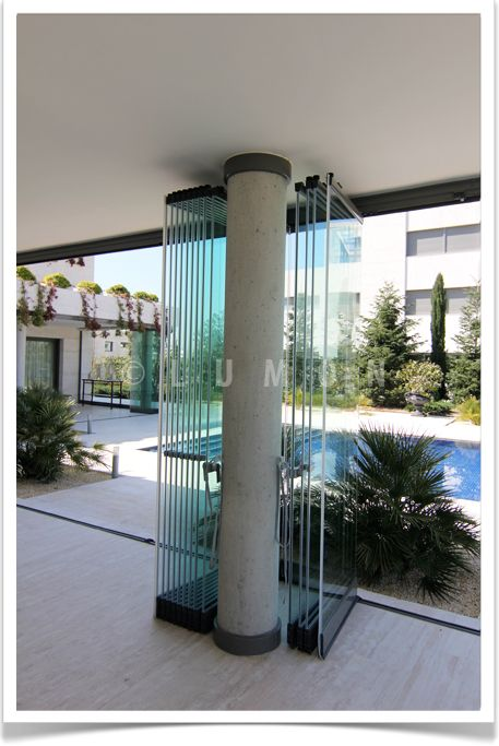 M s de 25 ideas fant sticas sobre puertas de aluminio en - Cerramientos plegables de vidrio ...