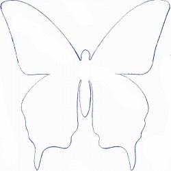 plantilla papallona