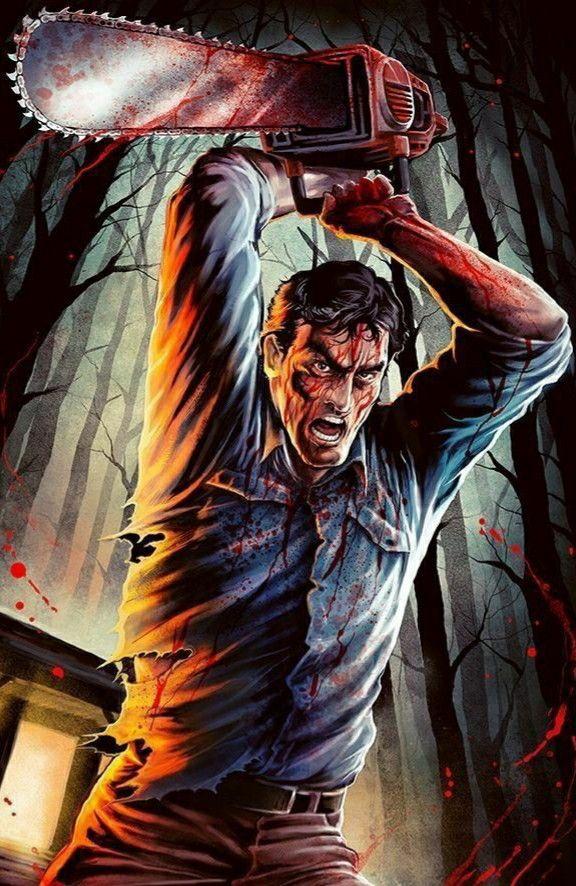 Ash Williams Evil Dead Movies Horror Movie Icons Ash Evil Dead