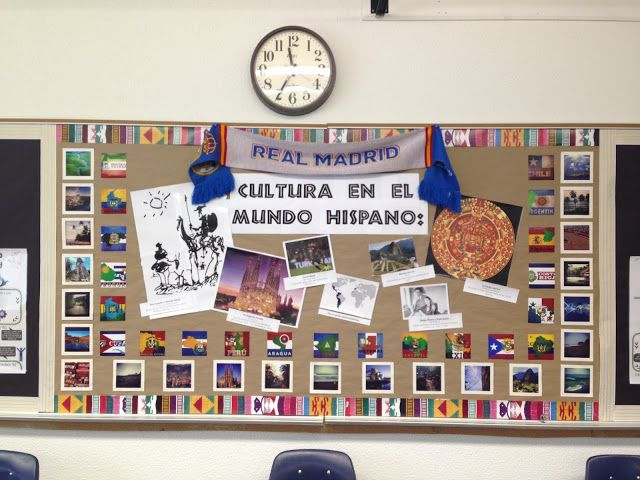 Spanish 1 Classroom Decorations : Best spanish classroom decor ideas on pinterest