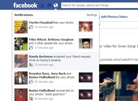 The only thing more awesome than Randy Bachman is being friends with Randy Bachman on Facebook! #probablynotarealaccount